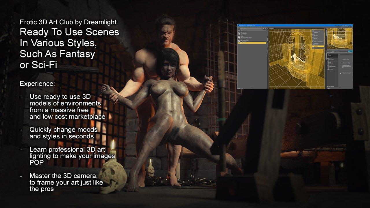 Erotic 3D Art Club